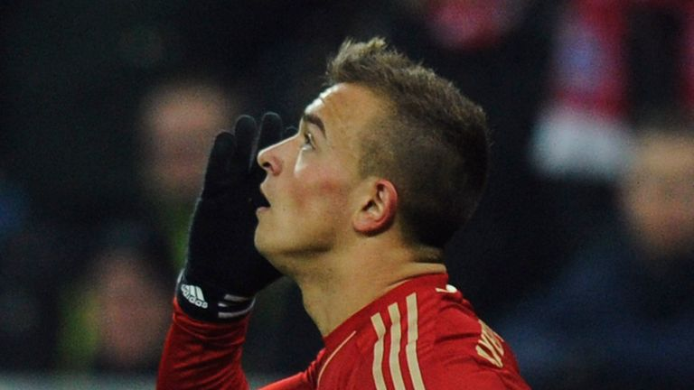 Xherdan Shaqiri: Scored the winner for Bayern against Freiburg