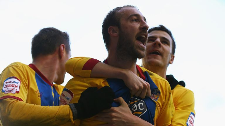 Glenn Murray: May be rested by Crystal Palace against Leeds