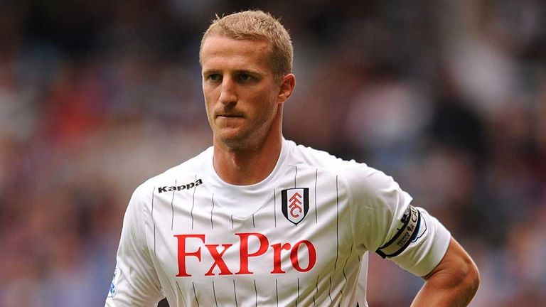 Brede Hangeland: Yet to agree a new deal at Fulham