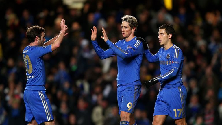 Fernando Torres: Notched a brace, but Chelsea were knocked out