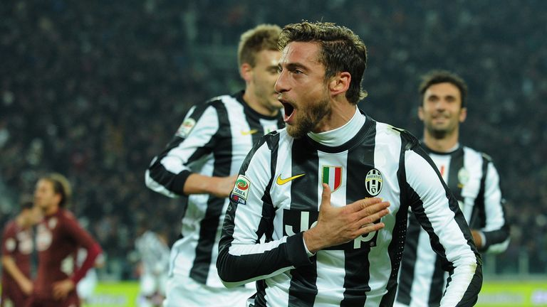 Marchisio was on target twice for Juventus