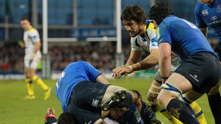 Wesley Fofana went over for a try in Dublin as Clermont pulled off back-to-back wins over the defending champions