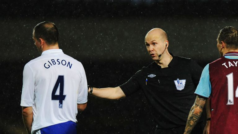 Darron Gibson: Available to face Chelsea, injury permitting
