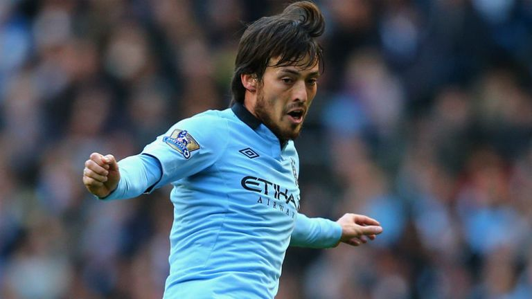 David Silva: The Manchester City playmaker added an extra touch of class when returning from injury