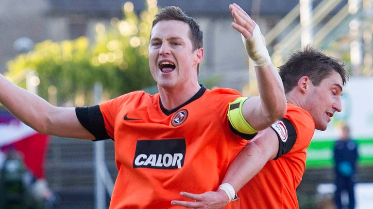 Jon Daly: Out of contract at Dundee United in the summer