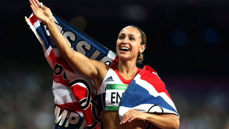 Jessica Ennis: Won gold in the heptathlon