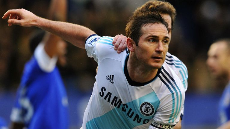 Frank Lampard: England midfielder is in fine form for his club