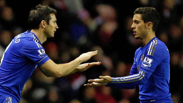 Frank Lampard: Veteran praises his fellow Chelsea midfielder