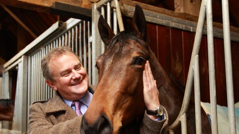 Hugh Bonneville: Has joined the Highclere team