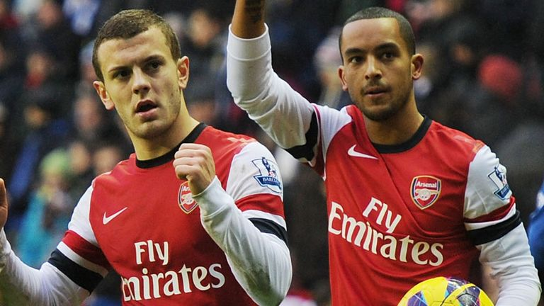 Jack Wilshere: Hoping Theo Walcott will follow his lead by penning fresh terms at Arsenal