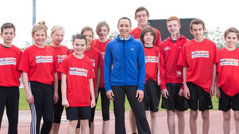 Jessica Ennis: has become an Ambassador for Sky Sports Living for Sport