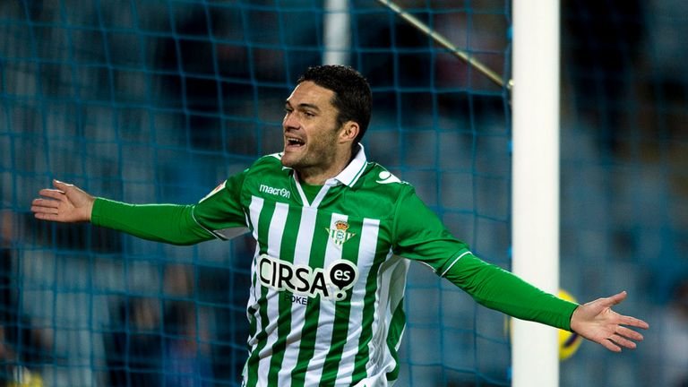 Jorge Molina: Scored a late winning goal for Real Betis