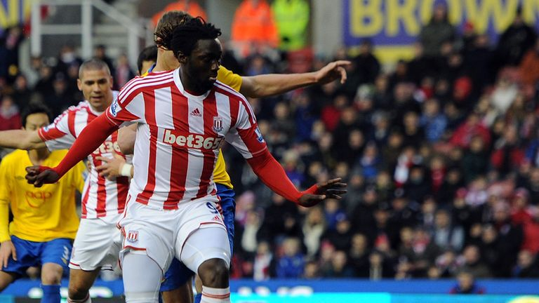 Kenwyne Jones: Stoke striker is wanted by Swansea
