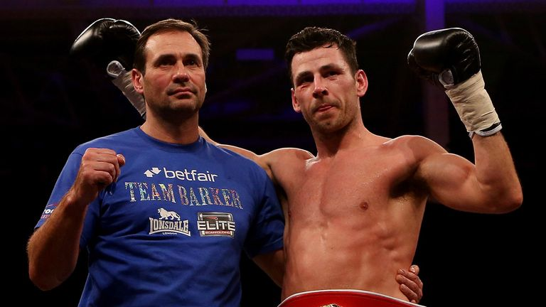 Darren Barker: Pursuing a fight against Andy Lee