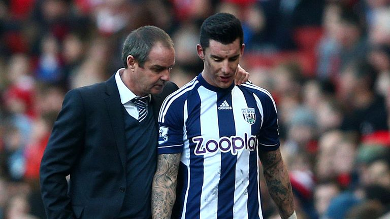 Liam Ridgewell: Has praised Steve Clarke for keeping his cool