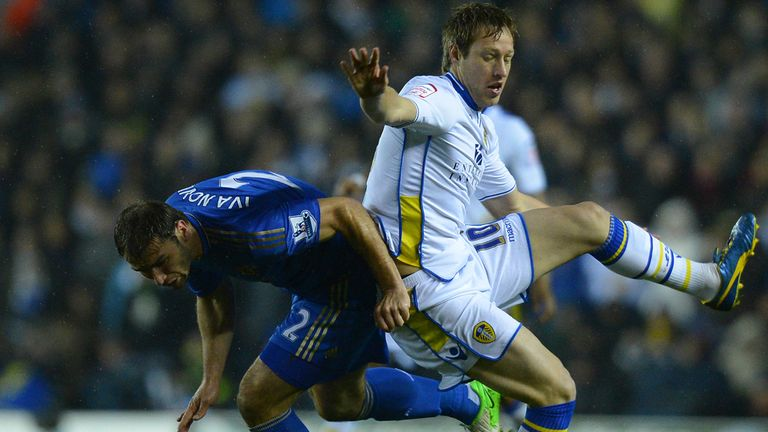 Luciano Becchio: Has been linked with a move away from Elland Road