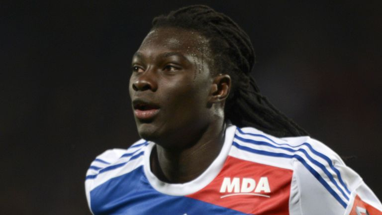 Bafetimbi Gomis: Netted again against Montpellier