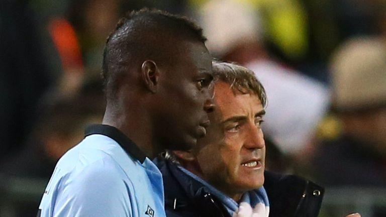 Mario Balotelli: Told to listen to Roberto Mancini by Cesare Prandelli