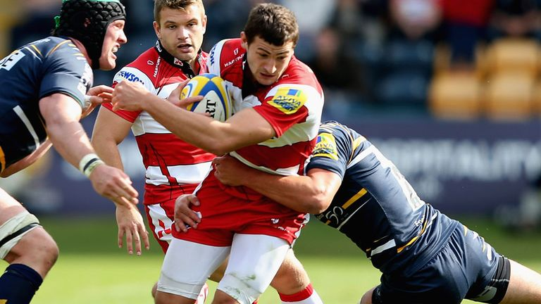 Jonny May: Handed a new deal at Gloucester