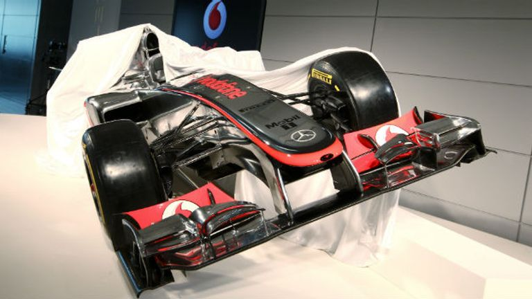McLaren's 2012 car was unveiled at the team's Technology Centre