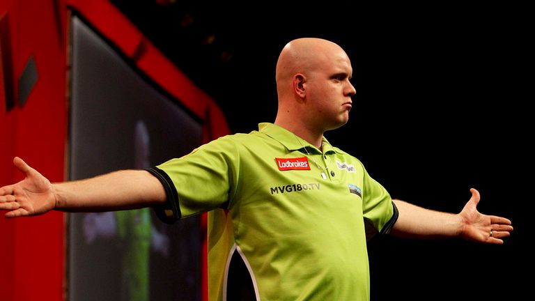 Michael van Gerwen: 'Ready to rumble' against Phil Taylor