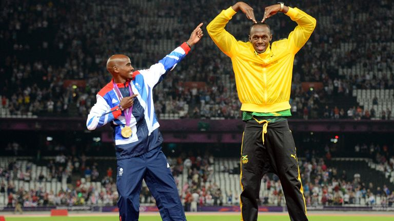 Mo Farah and Usain Bolt are two of the finalists for the 2013 World Athlete of the Year award. Bohdan Bondarenko is the other.