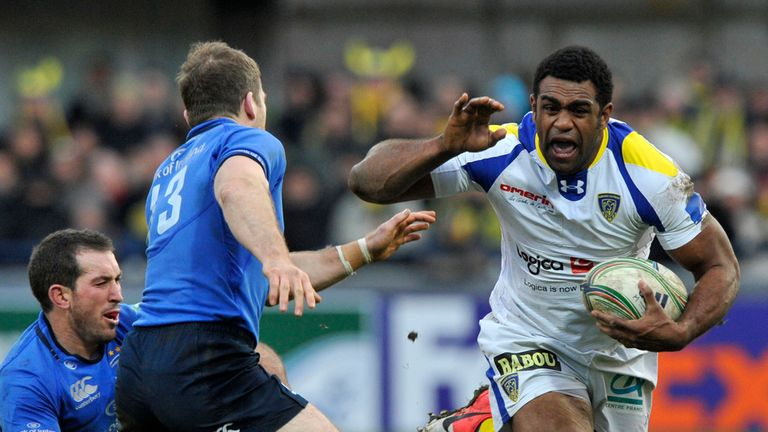 Napolioni Nalaga: On the charge in Clermont's 15-12 victory over Leinster