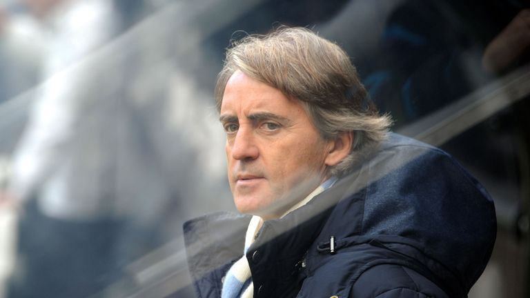 Roberto Mancini: Says the win was deserved for Manchester City at Newcastle