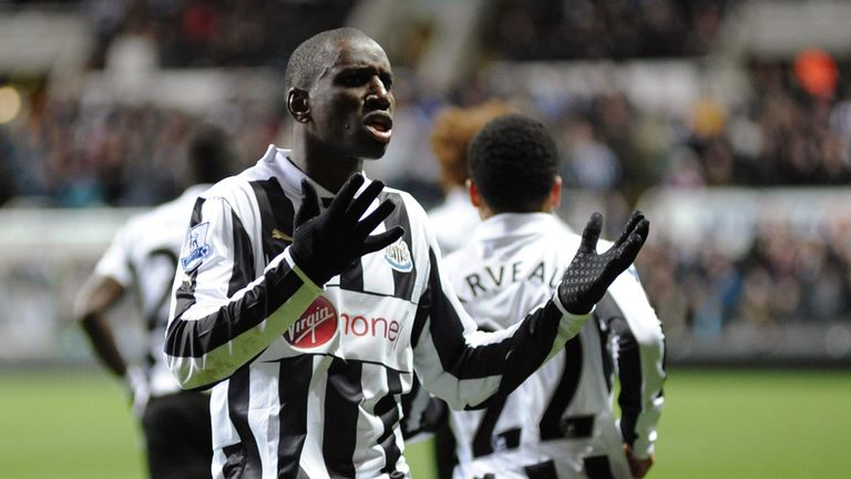 Newcastle will hope Demba Ba commits to the Magpies