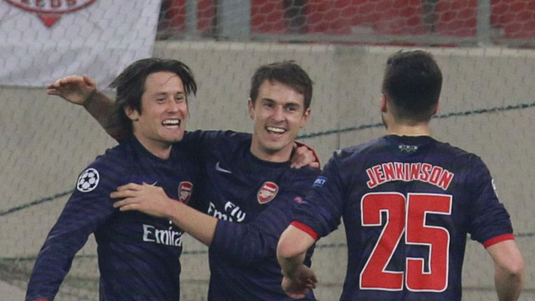 Tomas Rosicky: Looking for the Gunners to fire into the top four