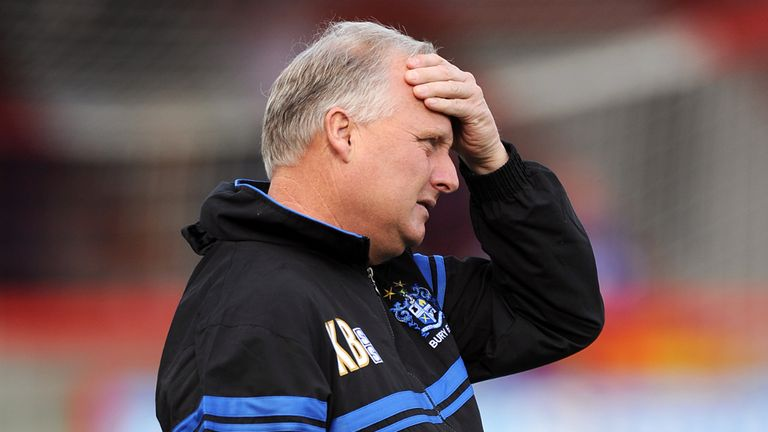 Kevin Blackwell: Feels his squad lacks depth