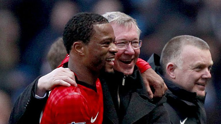 Patrice Evra fearing the sack from Sir Alex Ferguson if Manchester United lose their lead
