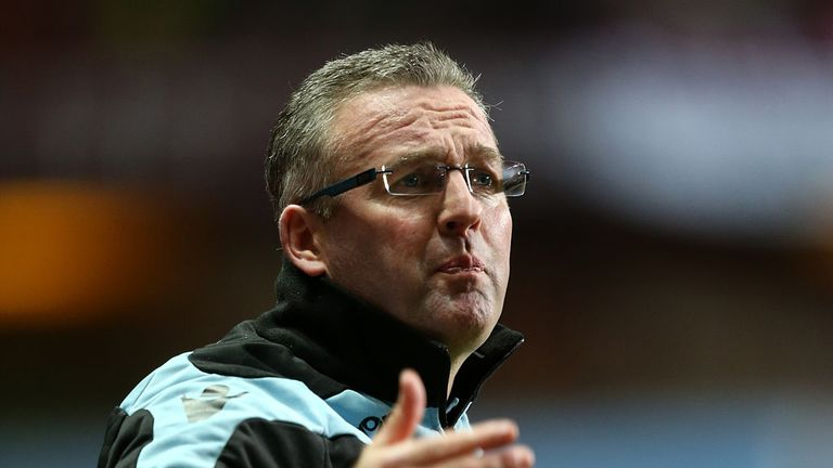 Paul Lambert: Despite a nightmare start to festive fixtures the Villa manager is looking ahead