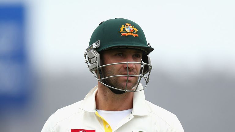 Phil Hughes: Made an impact scoring 86 on day one of the first Test