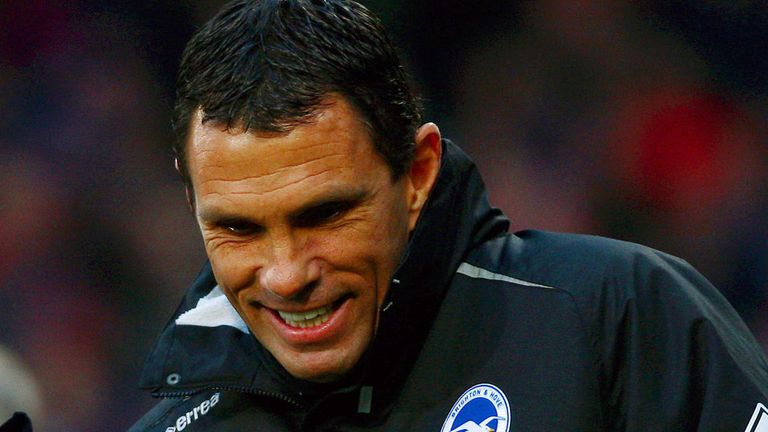 Gus Poyet: Brighton boss targeting the play-offs