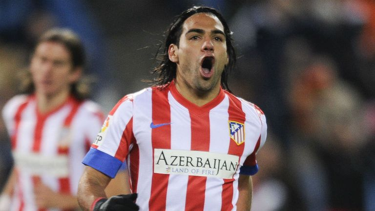 Falcao: Has bagged 17 goals in La Liga this season, attracting several clubs