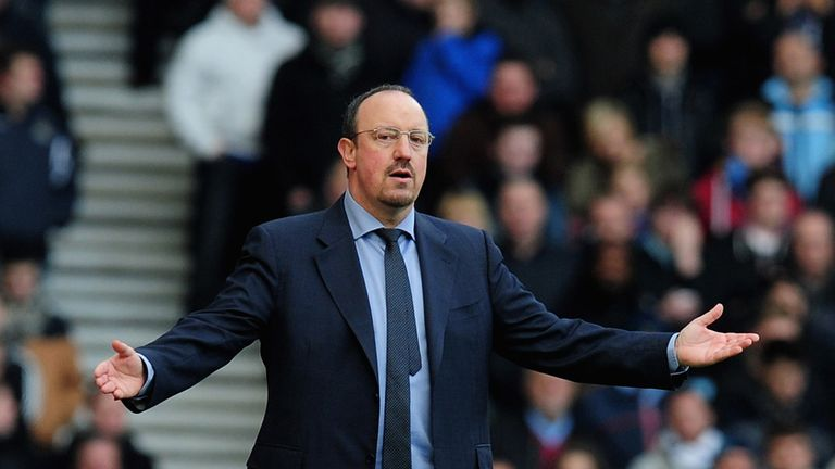 Rafael Benitez: Has had a nightmare start to life at Chelsea