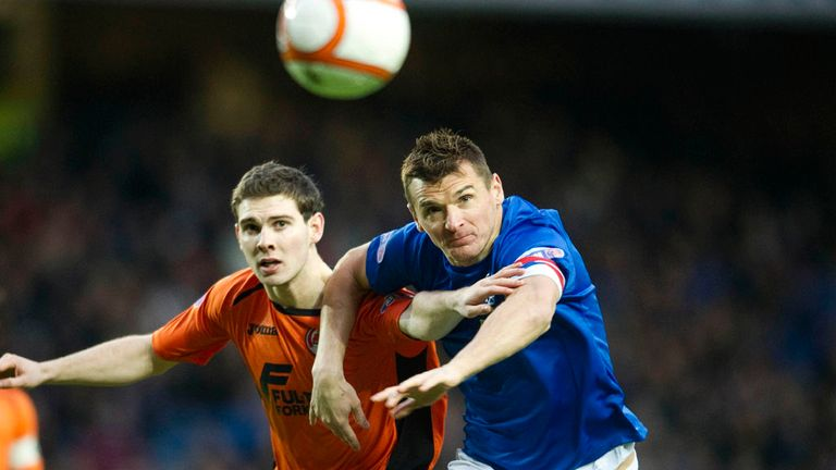 Lee McCulloch: Hampered by an ankle injury