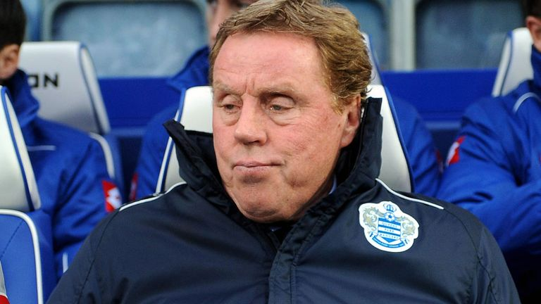 Harry Redknapp: Queens Park Rangers boss has been tasked with keeping the club in the Premier League