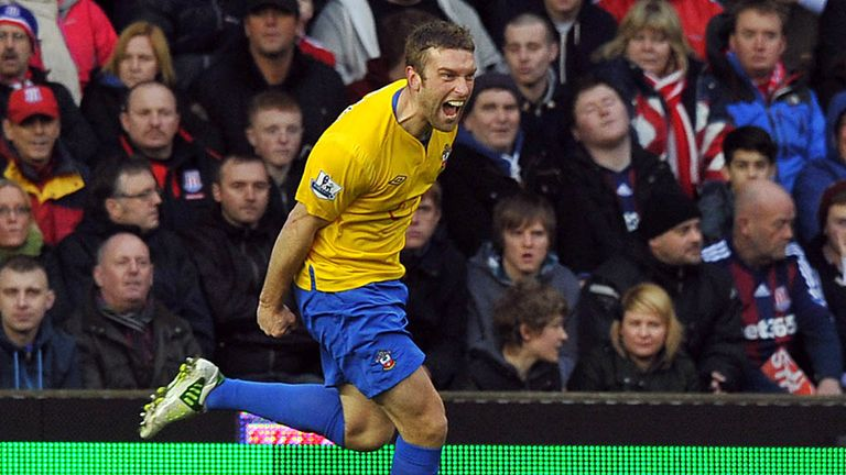 Rickie Lambert: Scorer of Southampton's winner at Aston Villa
