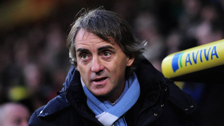 Roberto Mancini: City are to sign a new two-year contract with Adam Drury