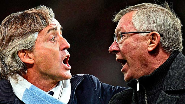 Mancini & Ferguson: go head to head on Monday Night Football