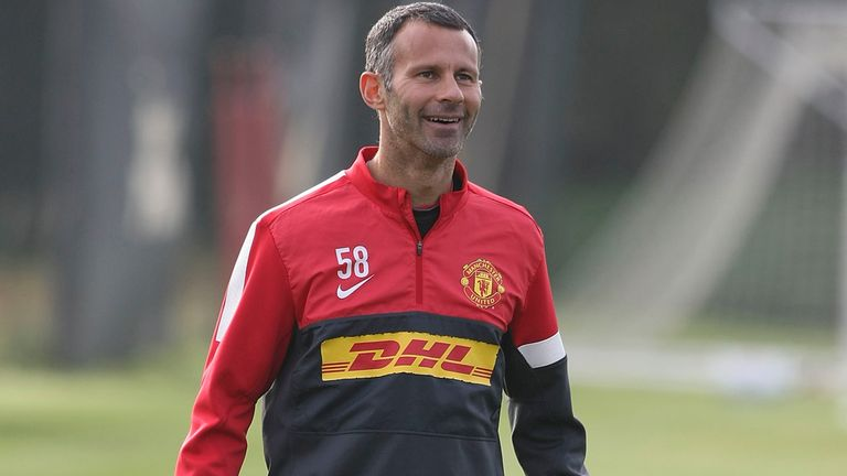 Ryan Giggs: Appears to be revelling in elder statesman role at Old Trafford