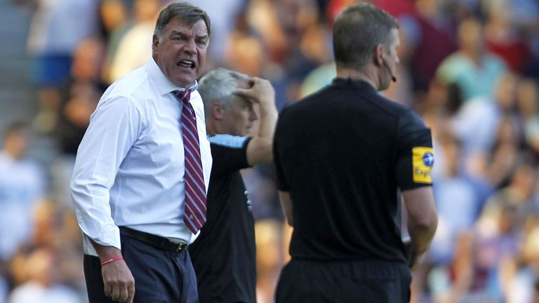 Sam Allardyce feels referees make mistakes due to fatigue - and especially at this time of year