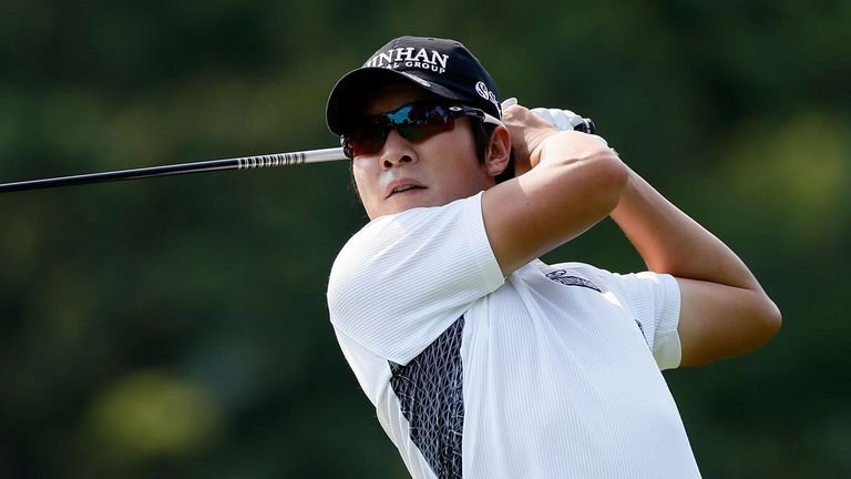 KT Kim: Holed the winning putt in sudden death play-off