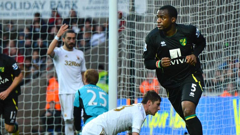 Sebastien Bassong: Scored his third goal in four games in the win over Swansea