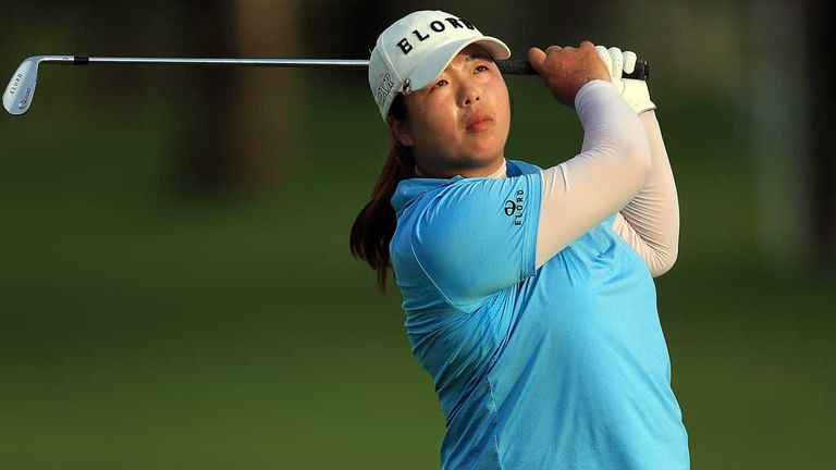 Shanshan Feng: Stormed clear at the halfway stage in Dubai