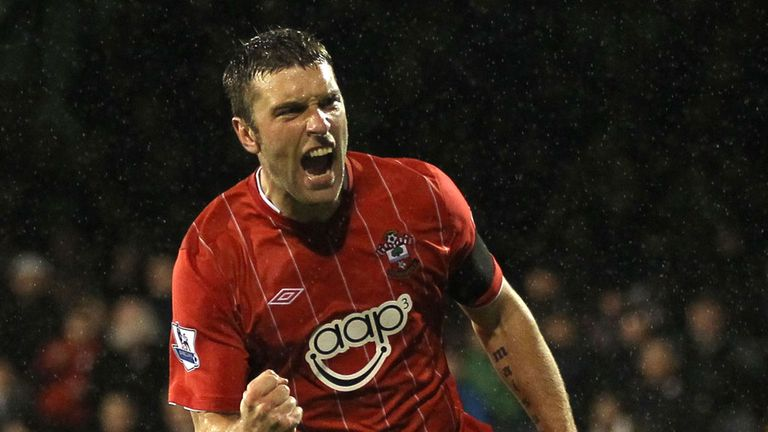 Rickie Lambert: Southampton striker enjoying first season in the Premier League