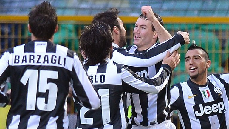 Stephan Lichtsteiner: Struck the decisive goal for Juventus
