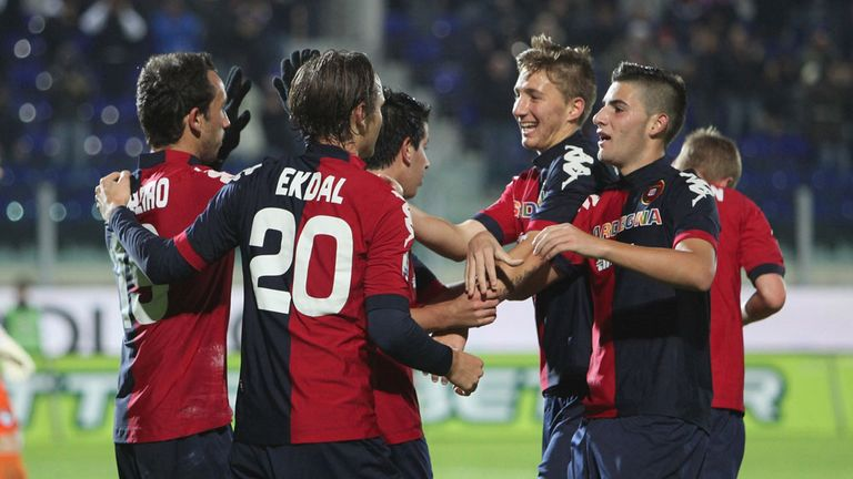 Cagliari: Will play Juventus at Parma's ground on Friday night